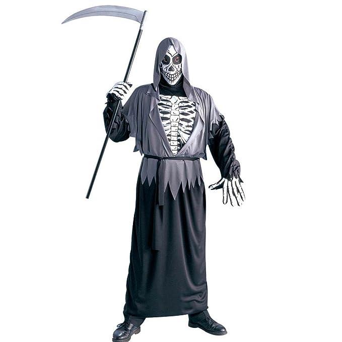 Traje Halloween ángel de la Muerte Disfraz Esqueleto Muerte ...