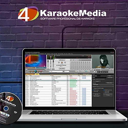 Equipo de Karaoke Profesional KaraokeMedia.: Amazon.es ...