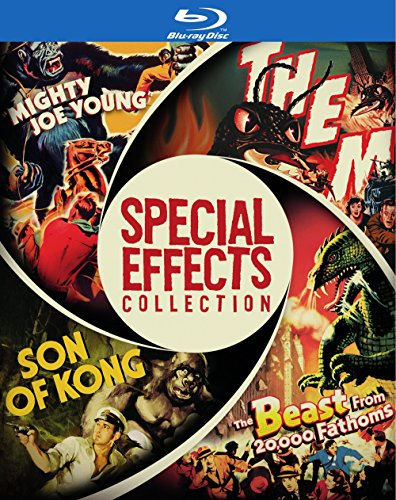 Blu-ray : Special Effects Collection (Boxed Set, 4PC)