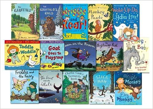 Julia Donaldson Collection 15 Books Set Pack NEW: Amazon.es: Julia ...