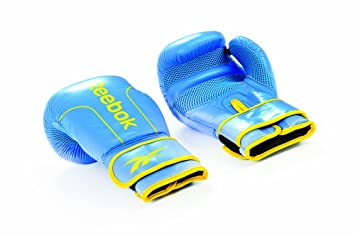 Blue Reebok Boxing Mitts