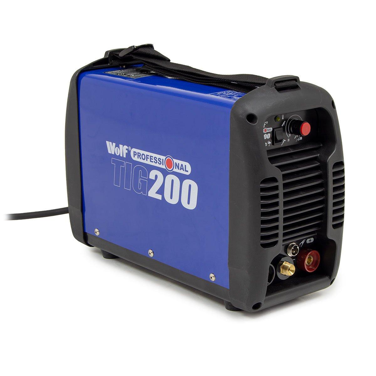 Wolf Professional Tig Arc Stick MMA 200 DC Welder 30 Amp - 200 Amps Range