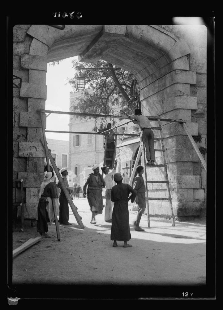 最低価格の 1937フォトPutting Iron Gates Iron Oct。21 at the New Gate ( B018DX2VAW Oct。21 , 1937 )場所:エルサレム B018DX2VAW, ホームセンターエース:21752ddf --- a0267596.xsph.ru