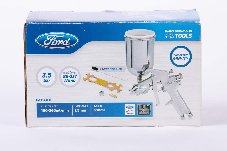 Air Original FORD Werkzeuge FORD 350 ml Gravity Spr/ühpistole mit Strom versorgt 3.4 Bar