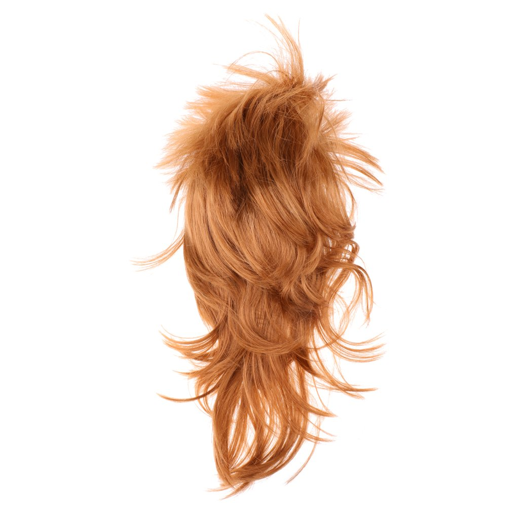 Adults Women Wild Punk Rock Wig Spiky 1980s Accessory Party Cosplay Costume Wig