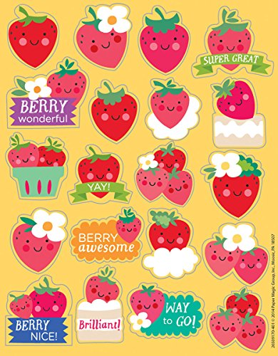 Eureka Strawberry Stickers, Scented (650917) by Eureka (Image #1)