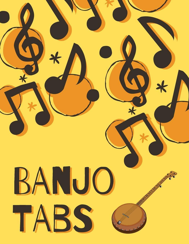 Banjo Tabs: Partituras de papel en blanco para canciones y acordes ...