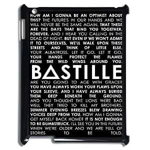 Bastille High Qulity Customized Cell Phone Case for iPad 2,3,4, Bastille iPad 2,3,4 Cover Case