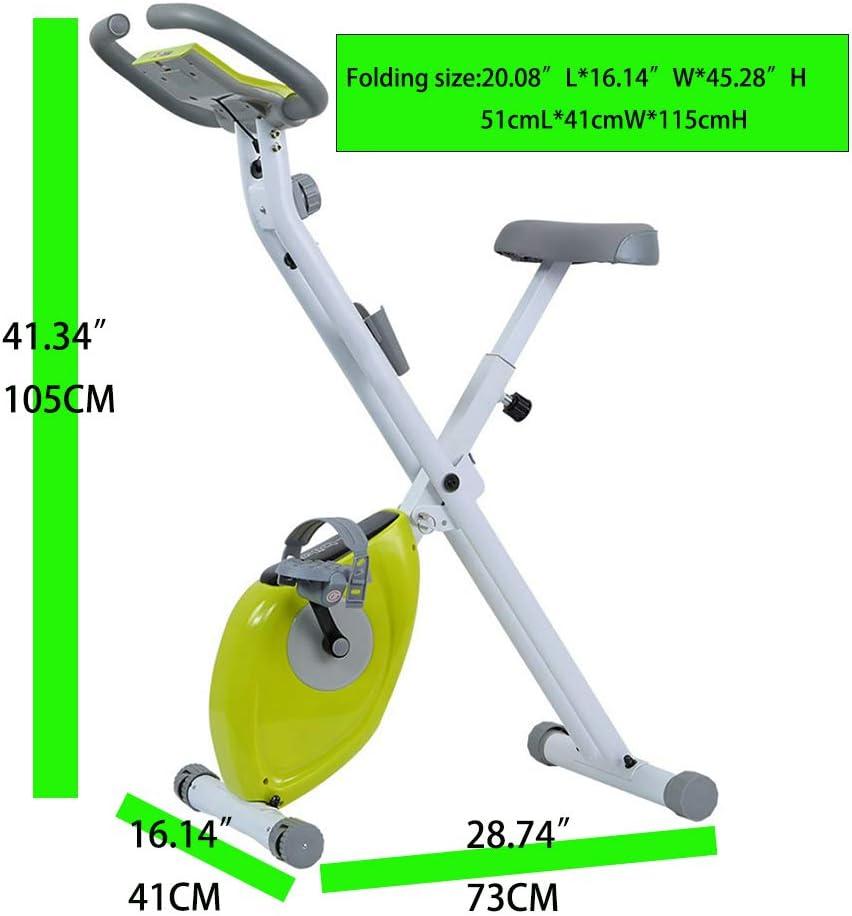 Snow Yang Bicicleta de Ejercicio Plegable para Interiores ...