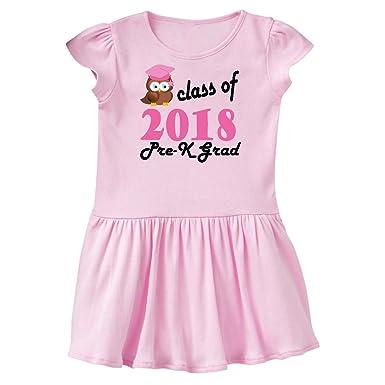 1fe6cc8950 inktastic - Pre-K 2018 School Graduation Toddler Dress 2T Ballerina Pink  2fa90