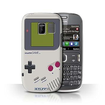 big sale ee24c 24af3 Stuff4 Phone Case/Cover for Nokia Asha 302 / Nintendo Game Boy Design/Games  Console Collection