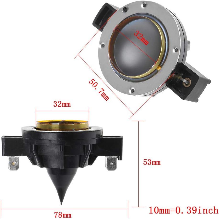 FXCO Membrane f/ür Hocht/öner hinten EV32 f/ür Hupenleiter DH3 DH2010A Ersatz f/ür Elektro-Stimmlautsprecher