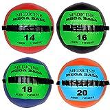 Soft Mega Medicine Ball Set- 14, 16, 18, 20 Lb