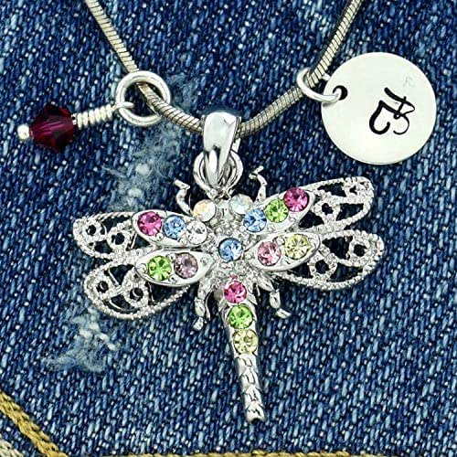 Sparkling Crystal Block Ring Chandelier: Amazon.com: Personalized Dragonfly Multi Color Sparkling