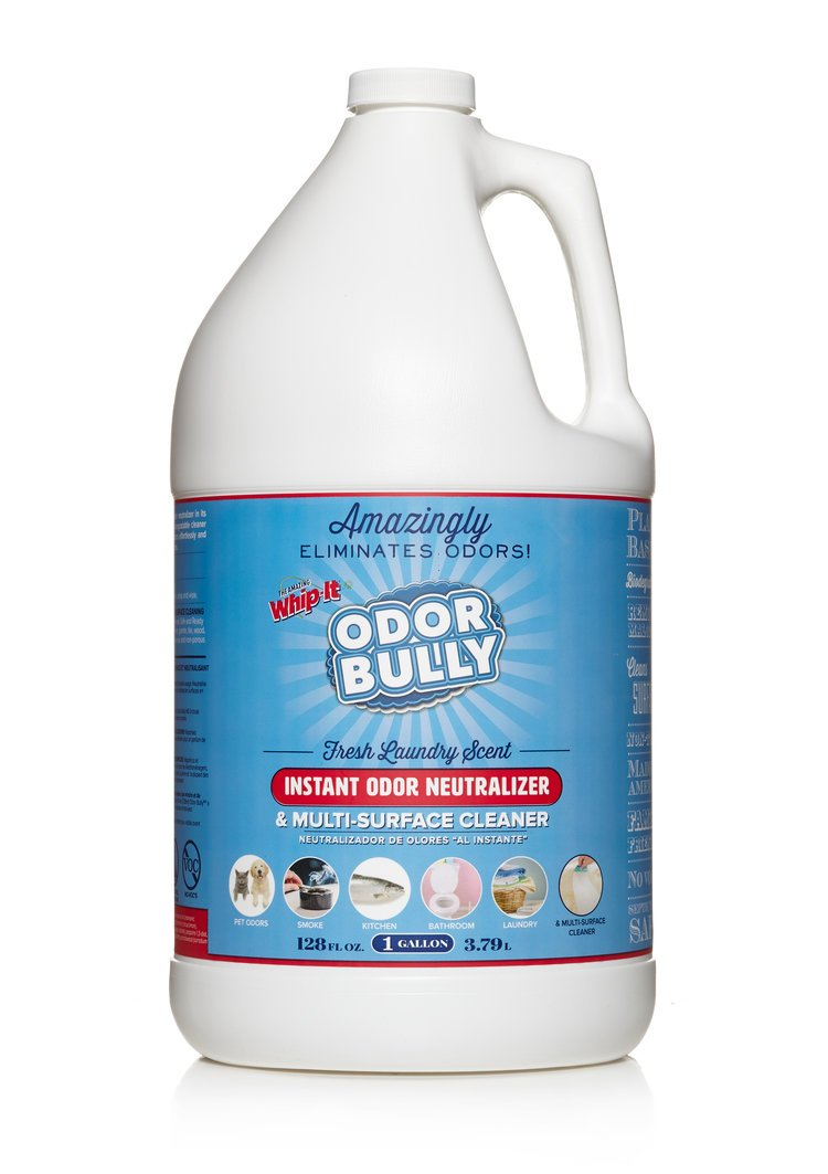 Whip-It Odor Bully Instant Odor Neutralizer Spray 128 oz by THE AMAZING WHIP-IT