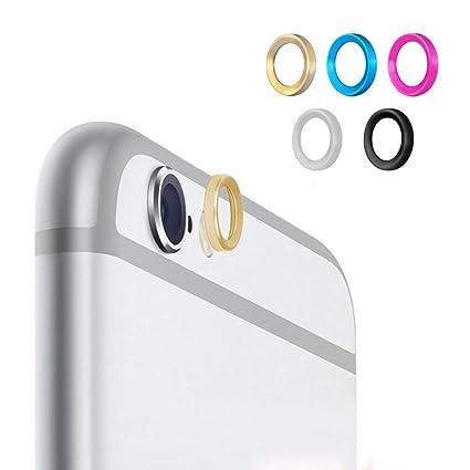 timeless design 78033 6ca7d 5pcs iPhone 6 Plus 6s Plus Camera Protector , Leathlux Installed ...