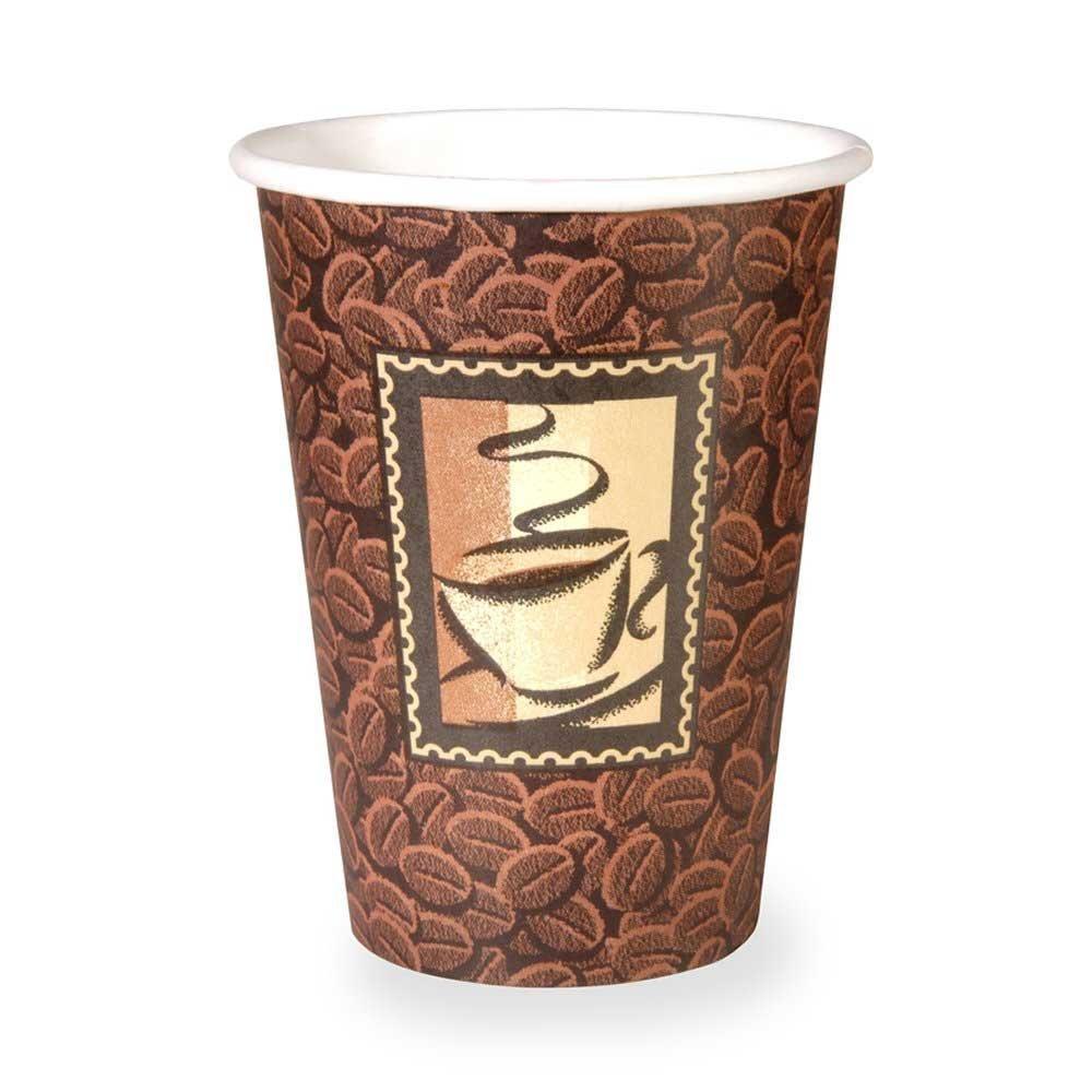 Dixie Java Design Paper Hot Cup, 12 Ounce -- 1000 per case.