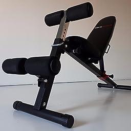 Ultrasport Banco de musculación TR-3 Compact, plegable, aparato de ...