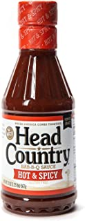 product image for Head Country Bar-B-Q Sauce, Hot & Spicy, 20 Ounce
