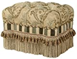 Jennifer Taylor Contessa Ottoman, Golden Caramel Review