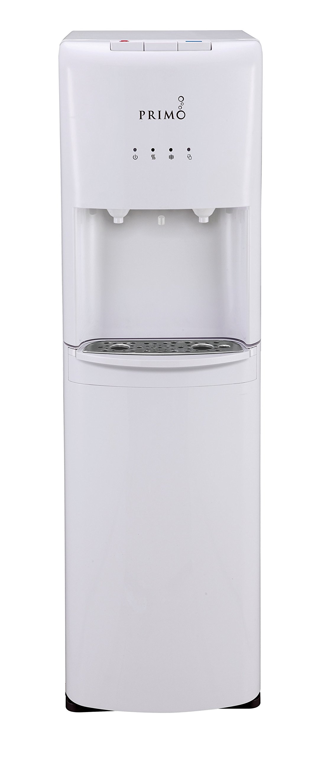 Primo White Bottom-loading Cold and Hot Water Cooler by Primo Water