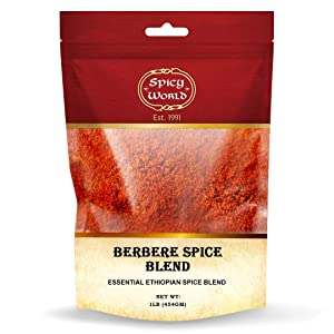 Berbere Spice Blend 1 LB Bulk | Authentic Ethiopian Hand-blended Spice - by Spicy World