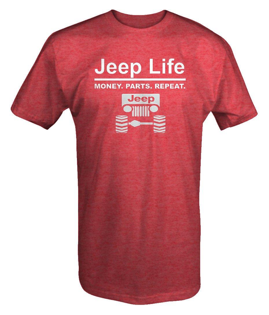 Jeep Life Money Parts Repeatt Shirt 5480
