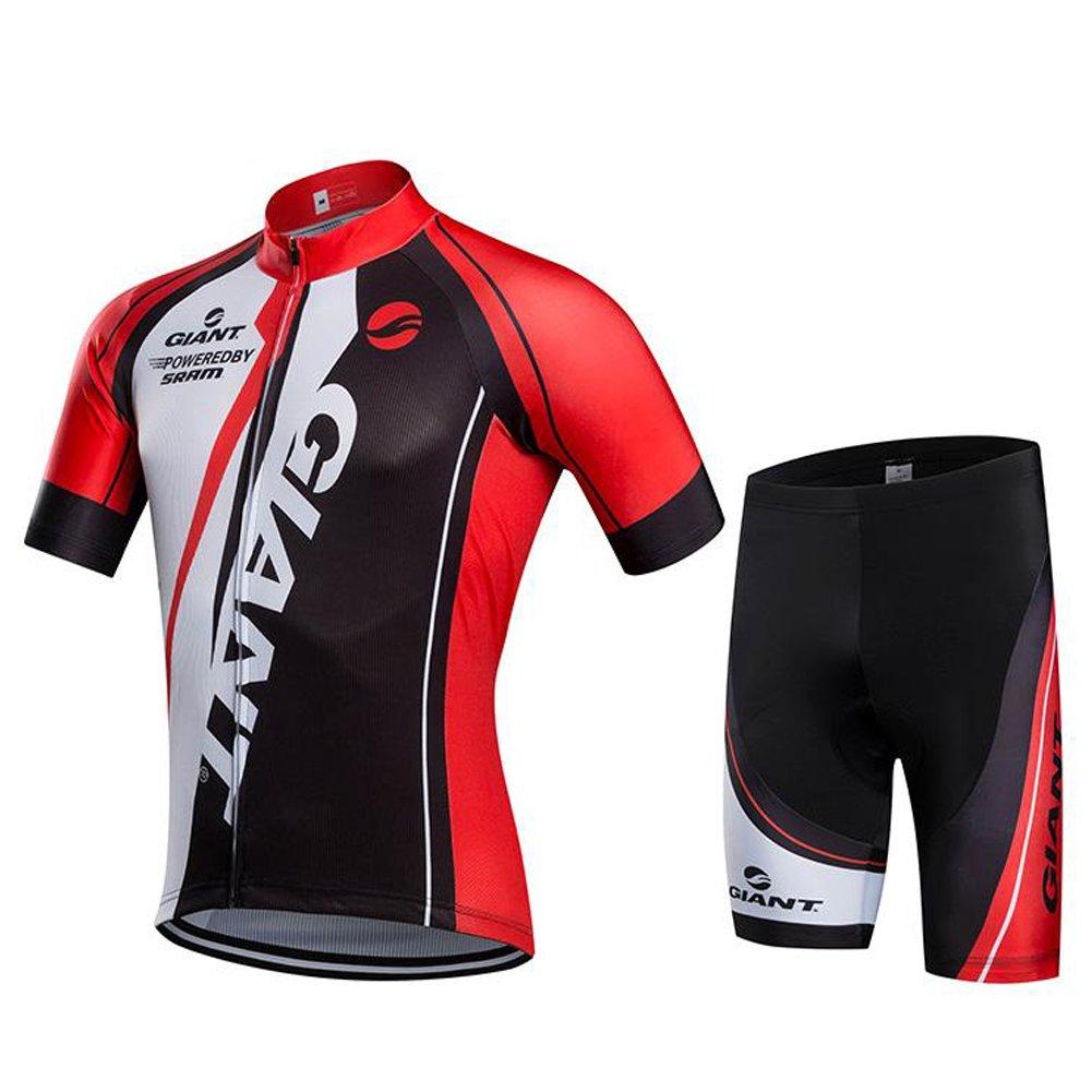Queenshiny® Herren Radtrikot Kurzarm Trikot Fahrradbekleidung Radfahren Männer Trikot