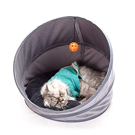 Weehey Mascota Gato Cueva Gato Cama Gato durmiendo Cueva ...