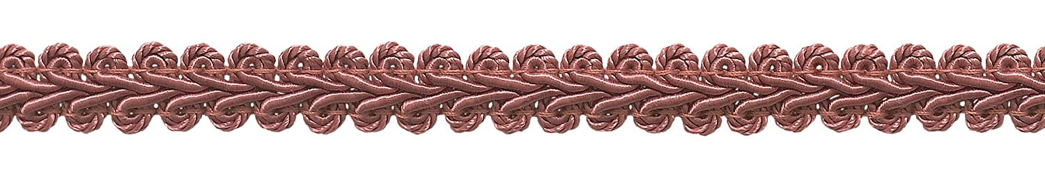 DecoPro 9 Meter Value Pack of 1.27cm Basic Trim French Gimp Braid, Style# FGS Color: LIGHT ROSE - K13 (30 Ft./9.5 Meters)