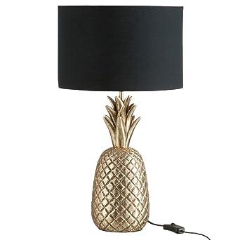 Ananas Rèsine Or Eclairage AntiqueLuminaires Lampe Et tdhrsCQ