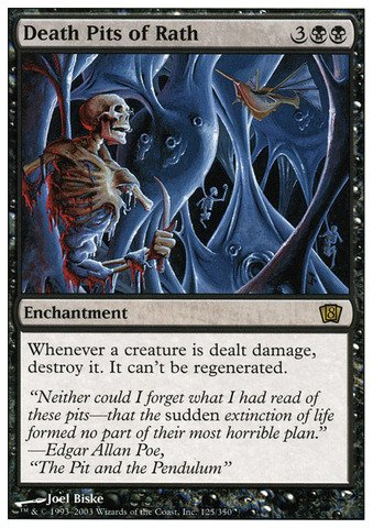 Magic: the Gathering - Death Pits of Rath - Eighth Edition - Foil (The Death Pit)