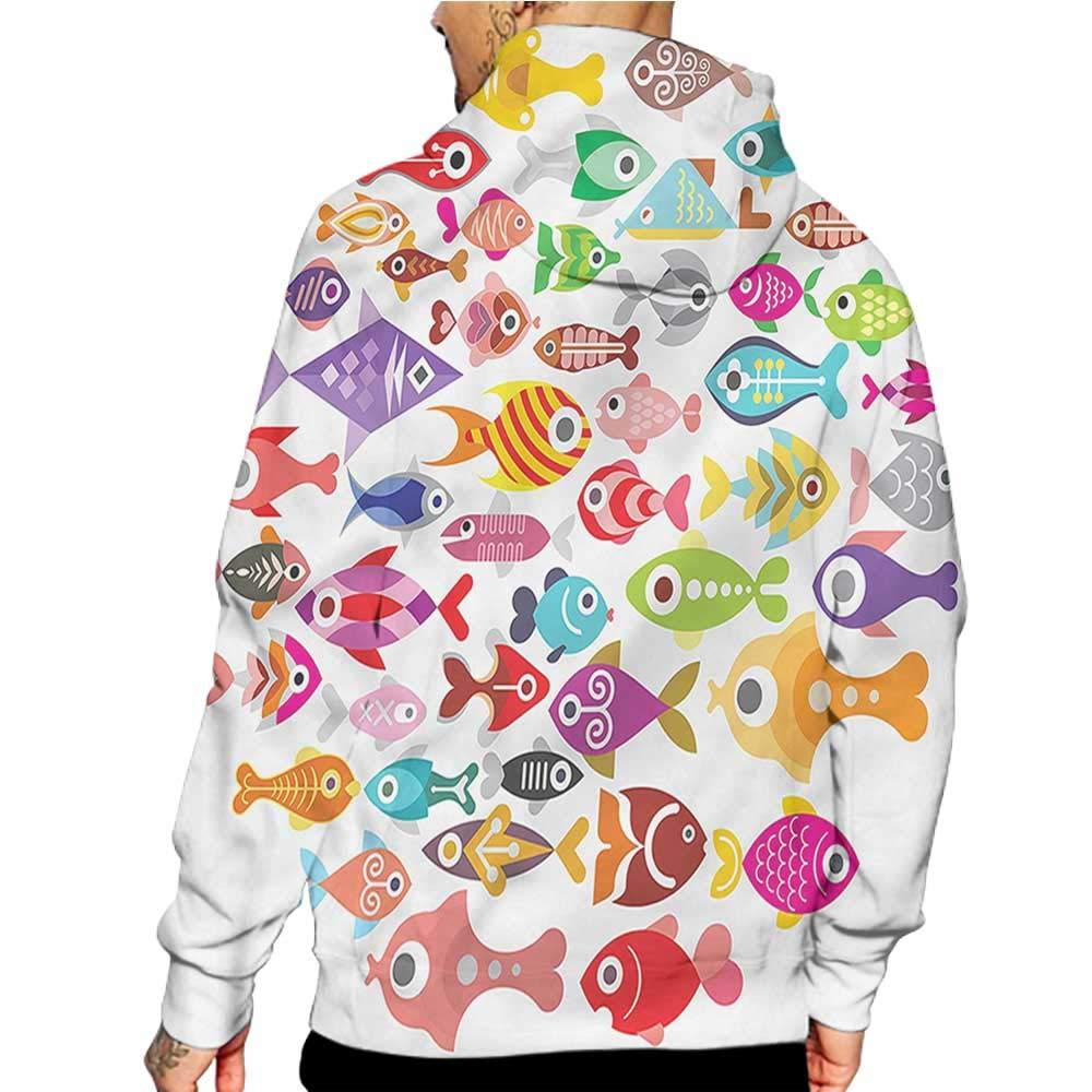 Unisex 3D Novelty Hoodies Feather,Floral Arrangement,Sweatshirts for Women Plus Size