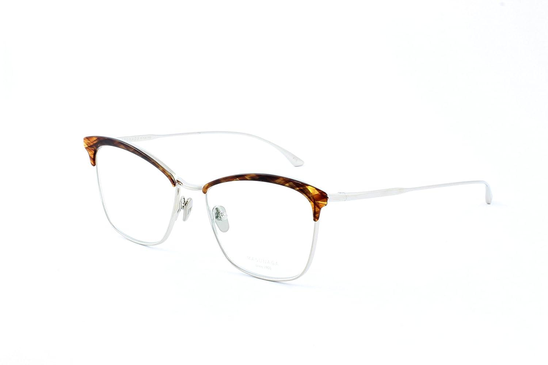 c0618f083d6e Amazon.com: Masunaga Women's Designer Eyeglasses, Ocean Drive 15  Black,Brown/Silver, Size 53-16: Clothing