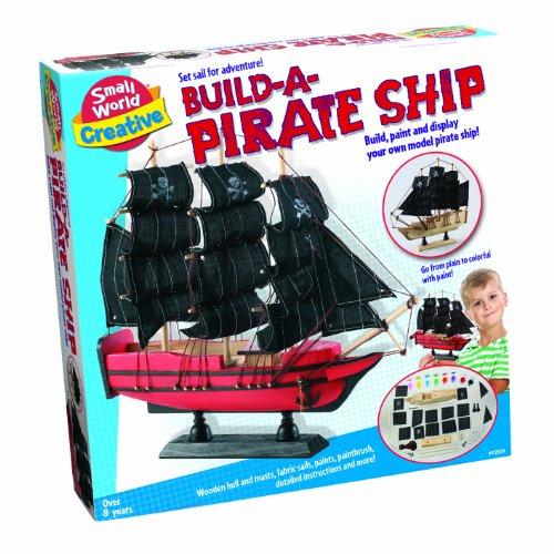 Small World Toys Creative - Build a Pirate Ship (Model Pirate Ship Kit compare prices)