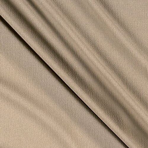 Fabric Merchants Bubble Crepe Stone Fabric by The Yard ()