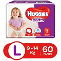 Huggies Wonder Pants Large Size Diapers (60 Count)