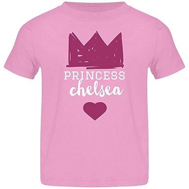 the best attitude bc566 96d24 Amazon.com: FUNNYSHIRTS.ORG Girls Princess Chelsea Tee ...