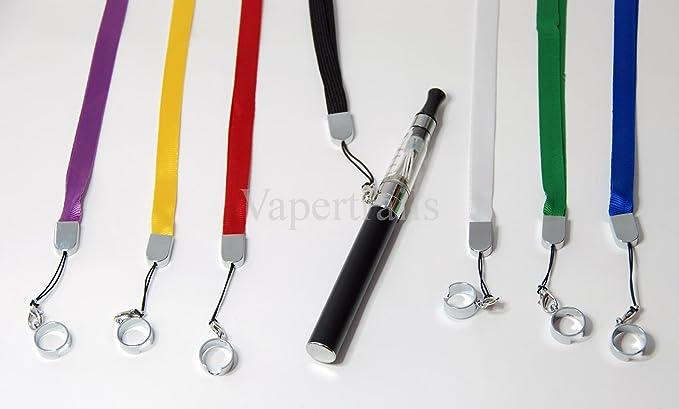 Colgante para Cigarrillo Cigarro Electrónico Collar tipo anillo eGo o EVOD (Verde): Amazon.es: Salud y cuidado personal