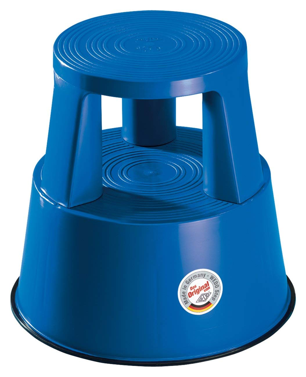 Wedo 212 203 Plastic Kickstool, Blue Werner Dorsch 212203