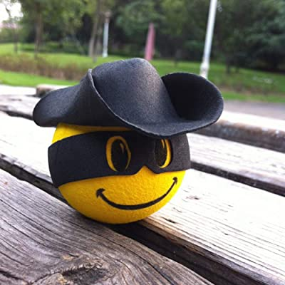 YGMONER Antenna Ball/Cute Antenna Topper/Car Foam Balls (Yellow Smiley Face): Automotive