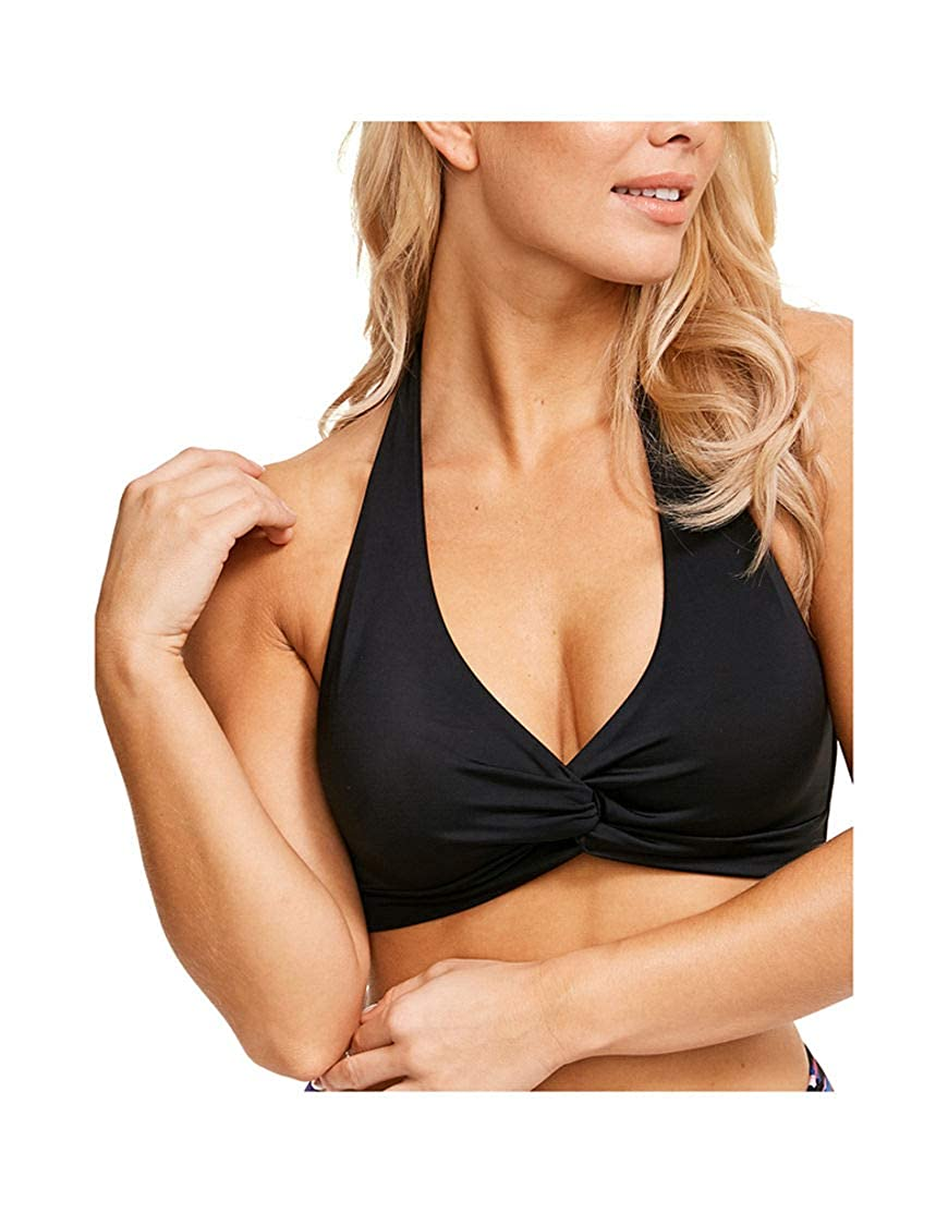 Figleaves Womens Rene Wrap Halter Bikini Top