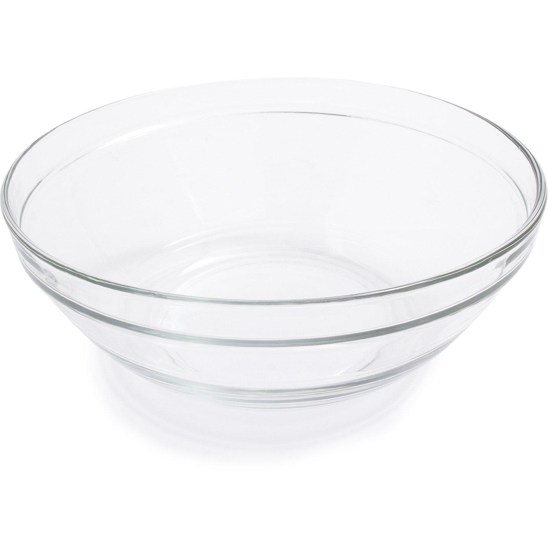 Duralex Lys Clear Stackable Bowl 511760M91, 3.5 qt.