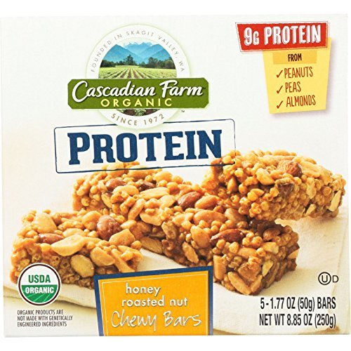 cascadian-farm-granola-bar-organic-protein-honey-roasted-nut-885-oz-case-of-12