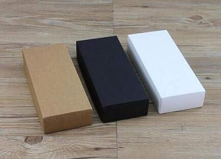 CTOBB - Caja de cartón Corrugado para Regalo, 10 tamaños, Color Blanco, Caja de Regalo con cajón, Caja de cartón ...