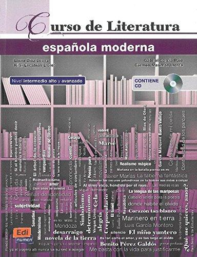 Curso De Literatura Española Moderna (+cd) (Español Lengua Extranjera)