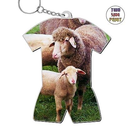 Amazon Com Keychain Sheep Keyring World Cup Polo Shirt Logo Key