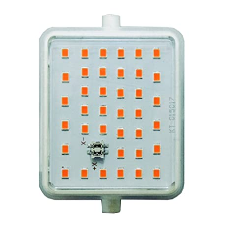 LightED J78 Bombilla LED 50K R7s, 12 W, Blanco, 78 x 55 x