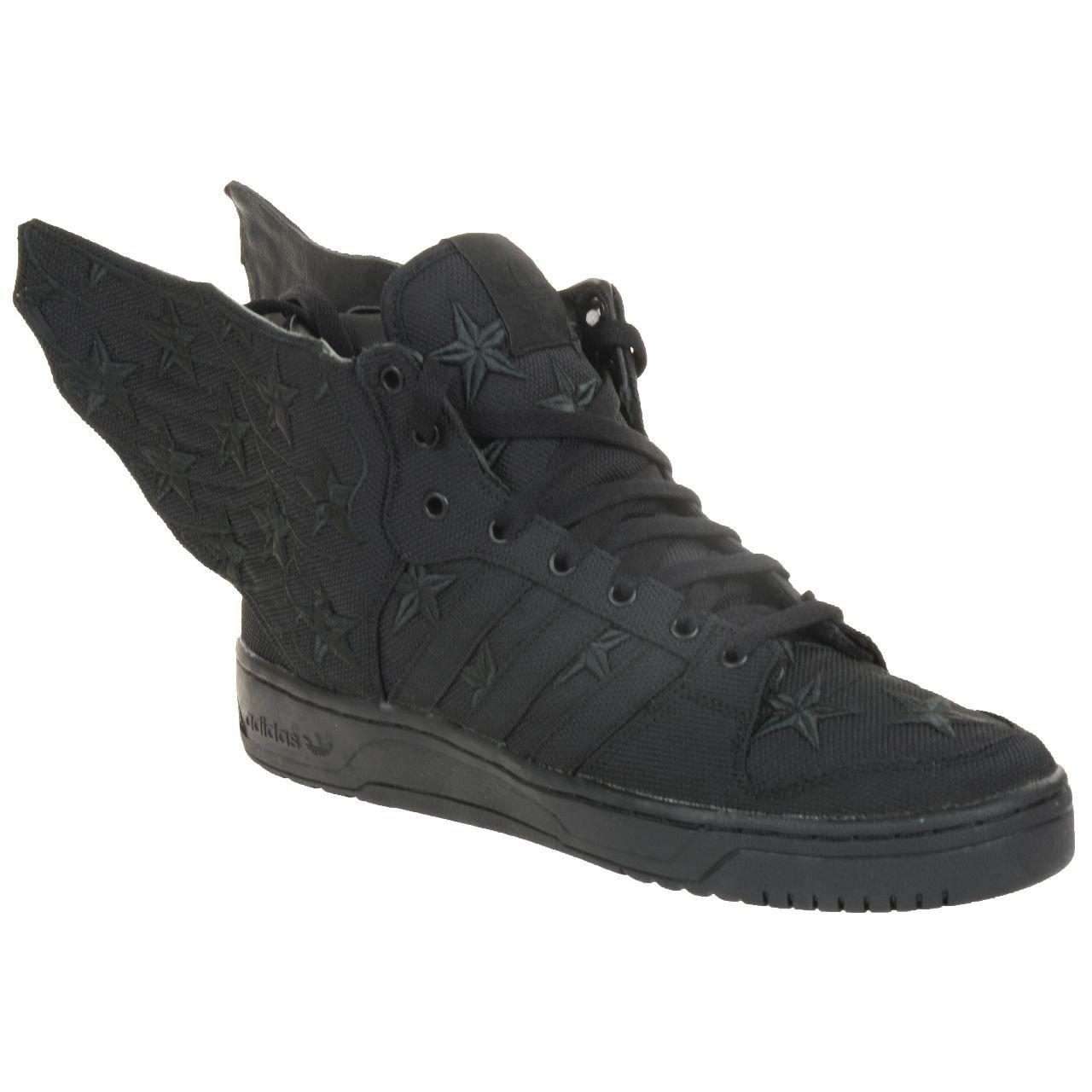 Adidas Adidas Adidas Originals JS Wings 2.0 schwarz Flag Jeremy Scott Turnschuhe Schuh Schuhe schwarz D65206 791015