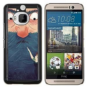 Dragon Case - FOR HTC One M9+ / M9 PLUS - opportunities are never lost - Caja protectora de pl??stico duro de la cubierta Dise?¡Ào Slim Fit
